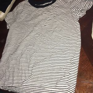 Black and white striped shirt from old navy.